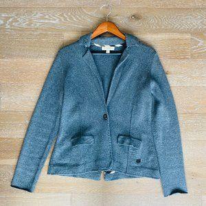 Burberry Wool/Cashmere Blazer | Grey | L
